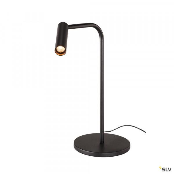 LED Tischleuchte in Schwarz