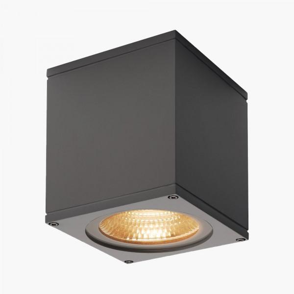 LED Deckenleuchte Downlight schwarz IP44