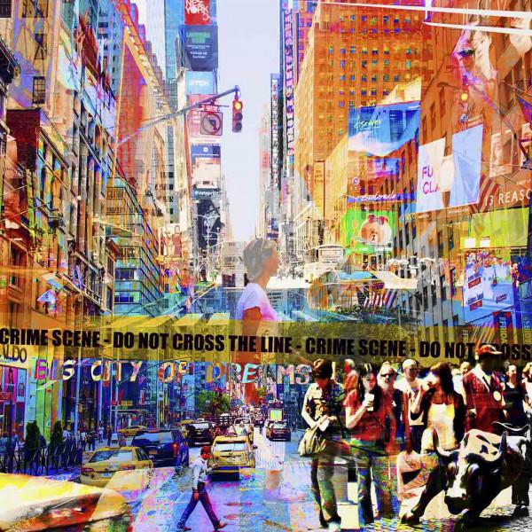 Pop Art: Big City of Dreams 100x100