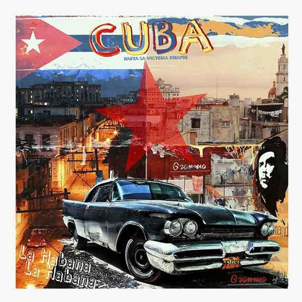 Pop Art: Cuba La Habana 100x100