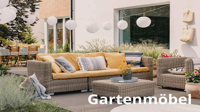 Trendige Gartenmöbel