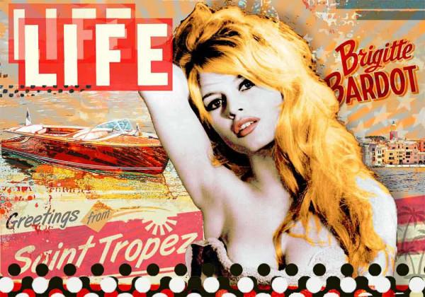 Pop Art: Special Edition Brigitte Bardot 100x70