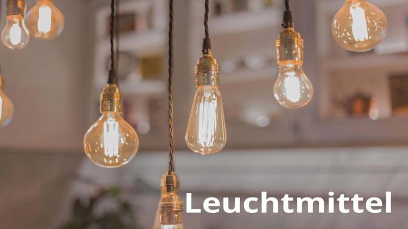 LED Lampen mit Fassungen