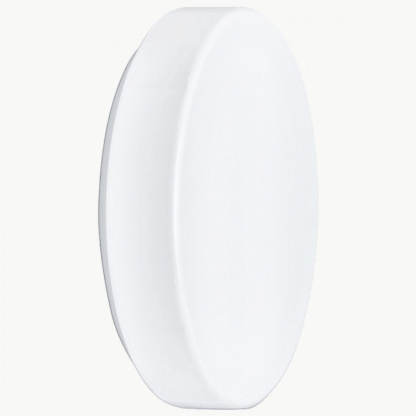 Wand Deckenleuchte Opalglas weiß D26