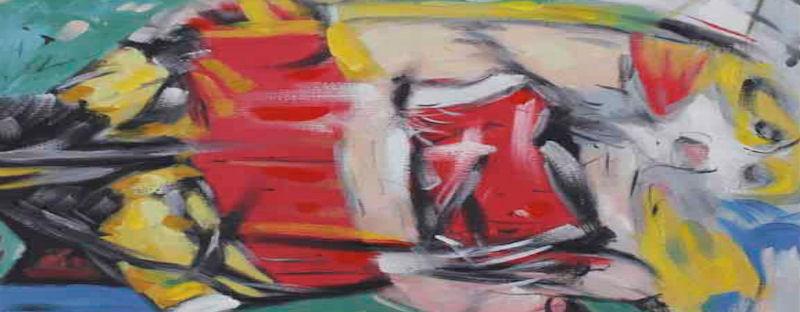 Abstrakte Gemälde und Kunststile