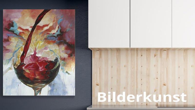 Acrylbilder und Ölbilder