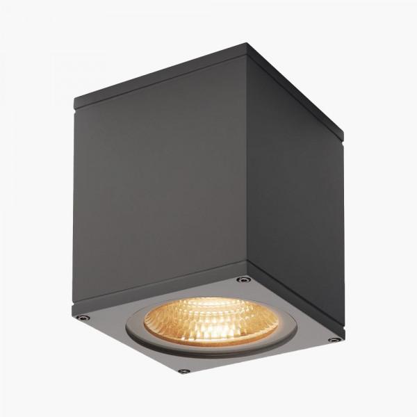 LED Wandstrahler dimmbar Anthrazit