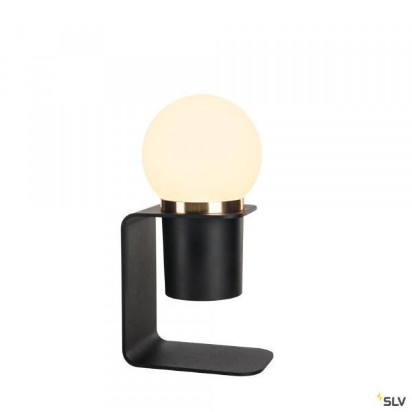 Kabellose LED Tischleuchte Schwarz