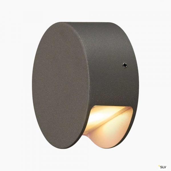 LED Wandleuchte für Innen & Aussen in grau