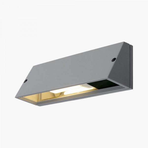 Wandleuchte Trapezform E27 Grau