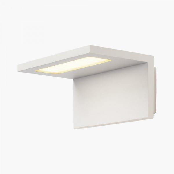 LED Wandleuchte Winkelstrahler Weiß IP44