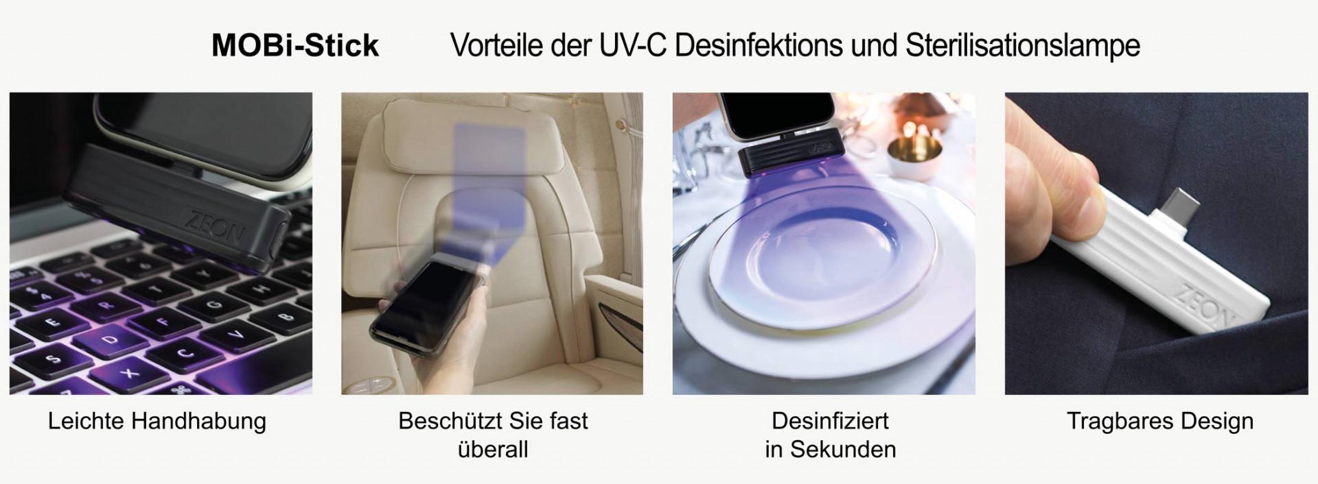 UVC Licht für Desinfektion